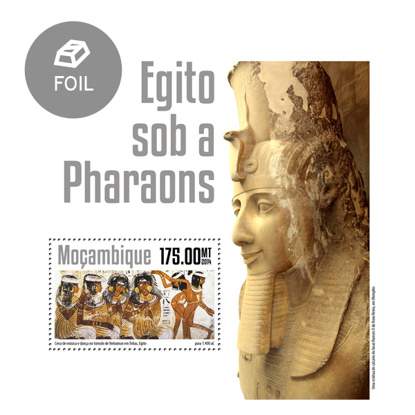 Egypt under the Pharaohs - Issue of Mozambique postage Stamps
