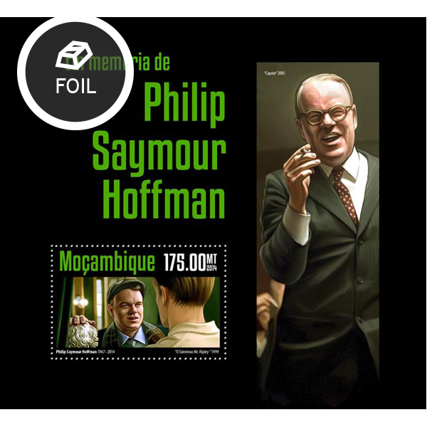 Seymour Hoffman - Issue of Mozambique postage Stamps