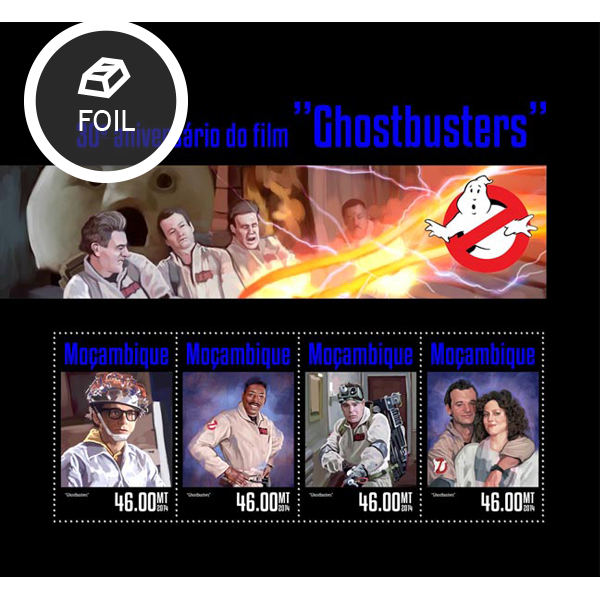 Ghostbusters - Issue of Mozambique postage Stamps