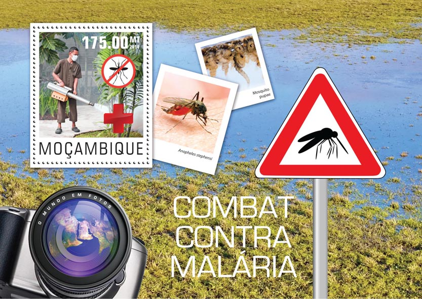 Fight malaria  - Issue of Mozambique postage Stamps