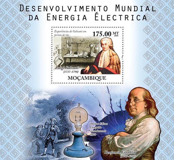 World Electric Power Development. - Issue of Mozambique postage Stamps