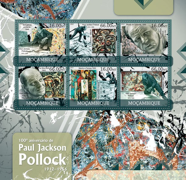 P. J. Pollock - Issue of Mozambique postage Stamps