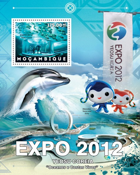 EXPO - Issue of Mozambique postage Stamps
