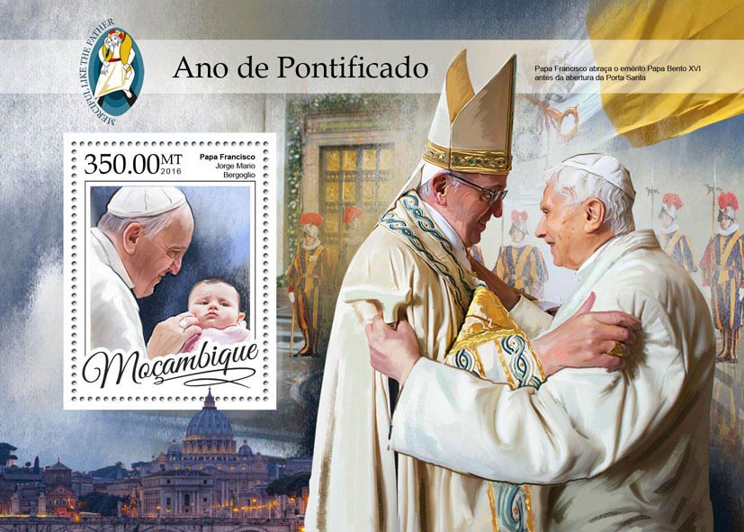 Year of Mercy - Issue of Mozambique postage Stamps