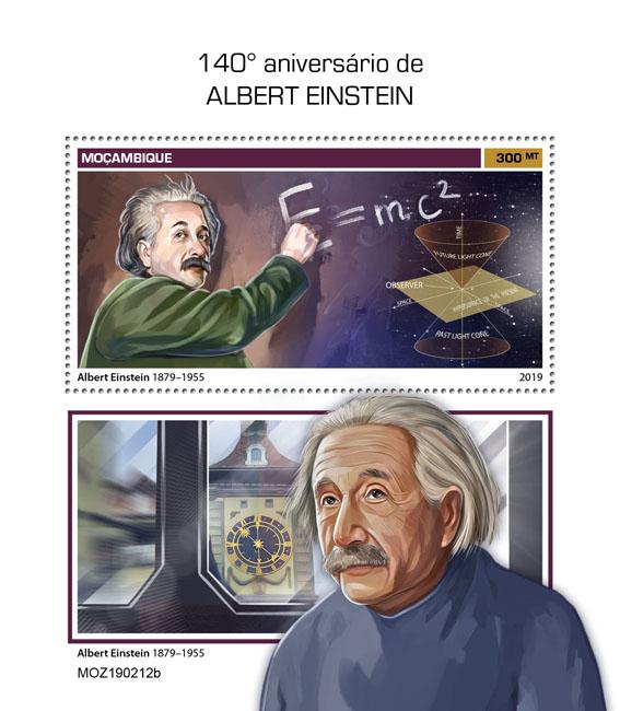 Albert Einstein - Issue of Mozambique postage Stamps